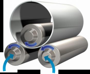 Obrázek k produktu - Tříválcové zakružovačky plechu DURMA – HRB-3