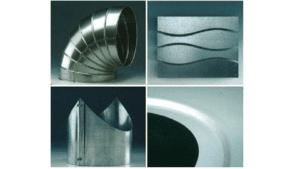 Vysekávací linka ze svitku - příklady výrobků