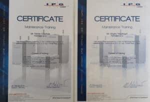 FORMETAL získal Certifikáty pro vláknové lasery od IPG LASER