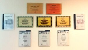 Certifikáty od výrobců plechotvářecích strojů