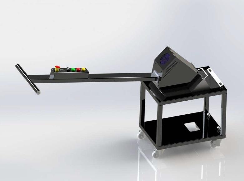Podobný stroj k Stroj na čištění stolů laserů SIDEB