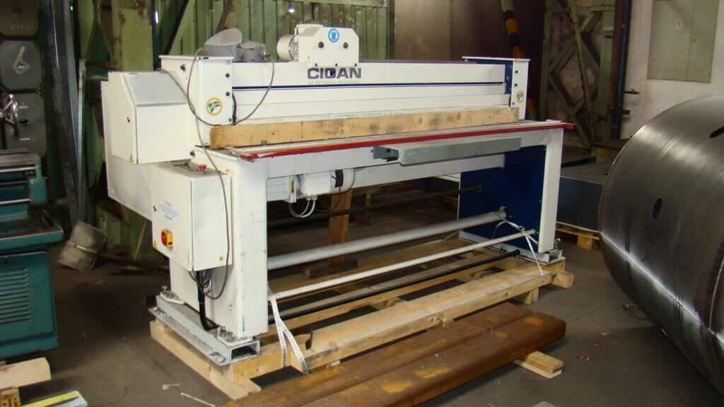 Mechanické tabulové nůžky Cidan HSM-F20-3,0