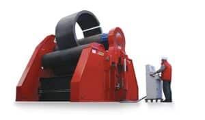 Hydraulické čtyřválcové zakružovačky plechu MCB