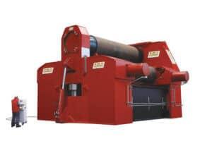 Hydraulické tříválcové zakružovačky plechu MAV