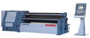 Čtyřválcové zakružovačky plechu DURMA – HRB-4