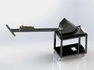Stroj na čištění stolů laserů SIDEB